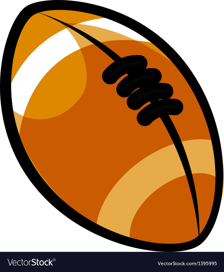A rugby ball vector | Price: 1 Credit (USD $1)