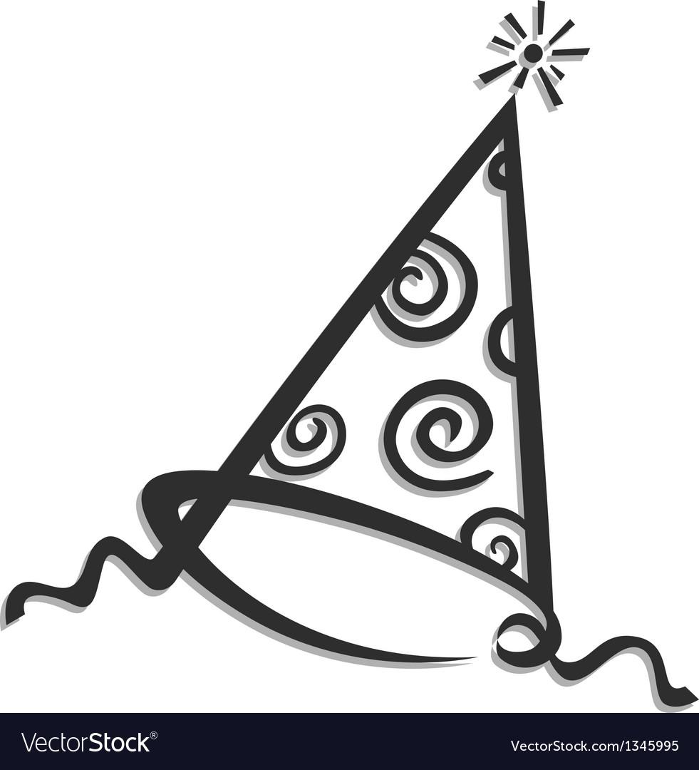 Birthday cap vector | Price: 1 Credit (USD $1)