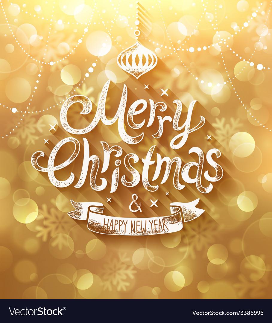 Christmas golden bg vector | Price: 3 Credit (USD $3)