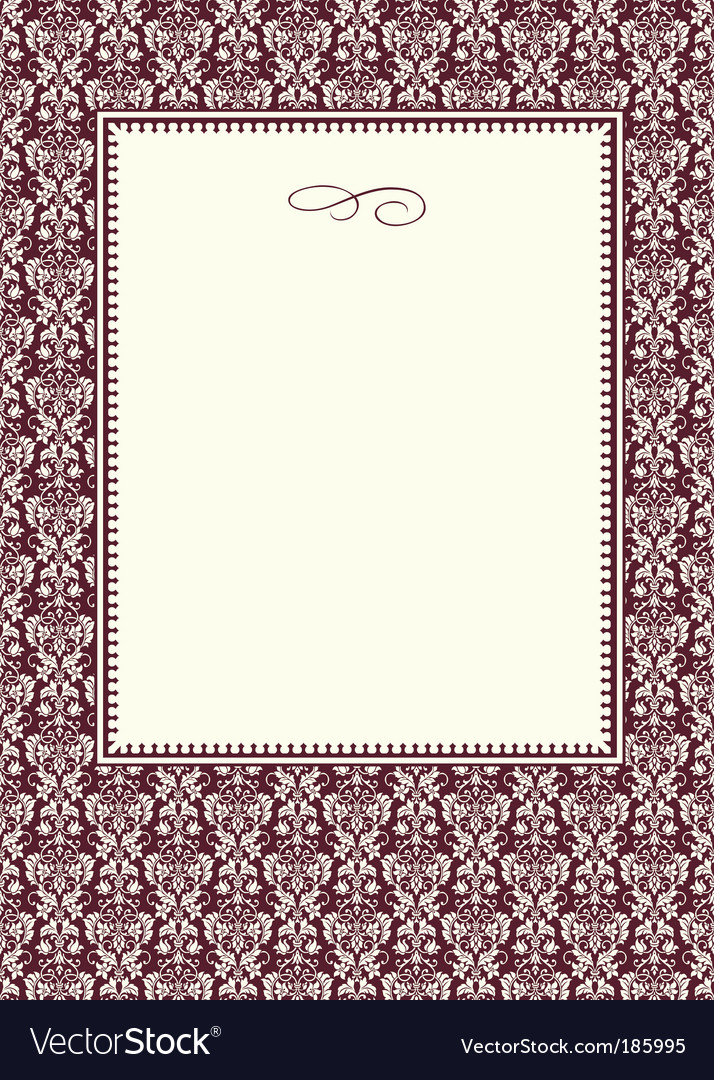 Pattern and frame vector | Price: 1 Credit (USD $1)