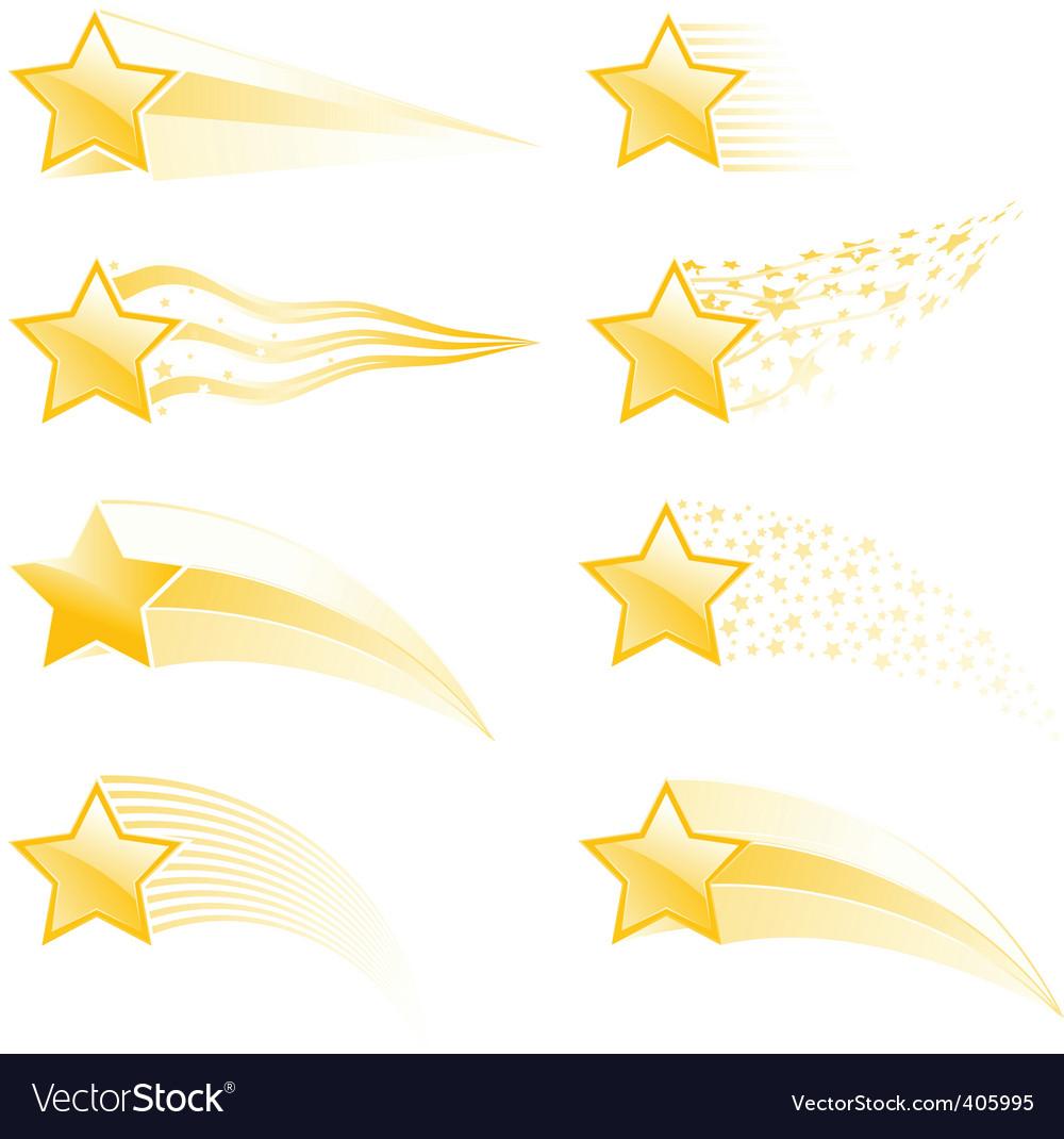 Star tracks vector | Price: 1 Credit (USD $1)