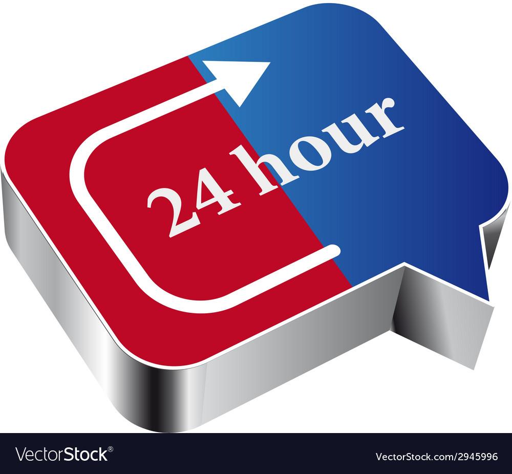 24 hours vector   Price: 1 Credit (USD $1)