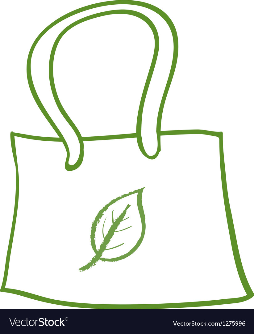 A recycled bag vector | Price: 1 Credit (USD $1)