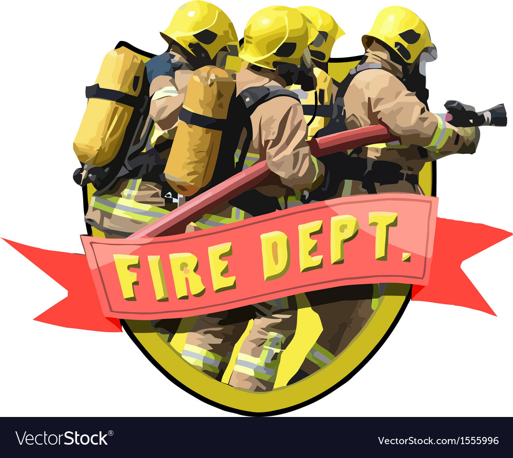 Fire department vector | Price: 3 Credit (USD $3)