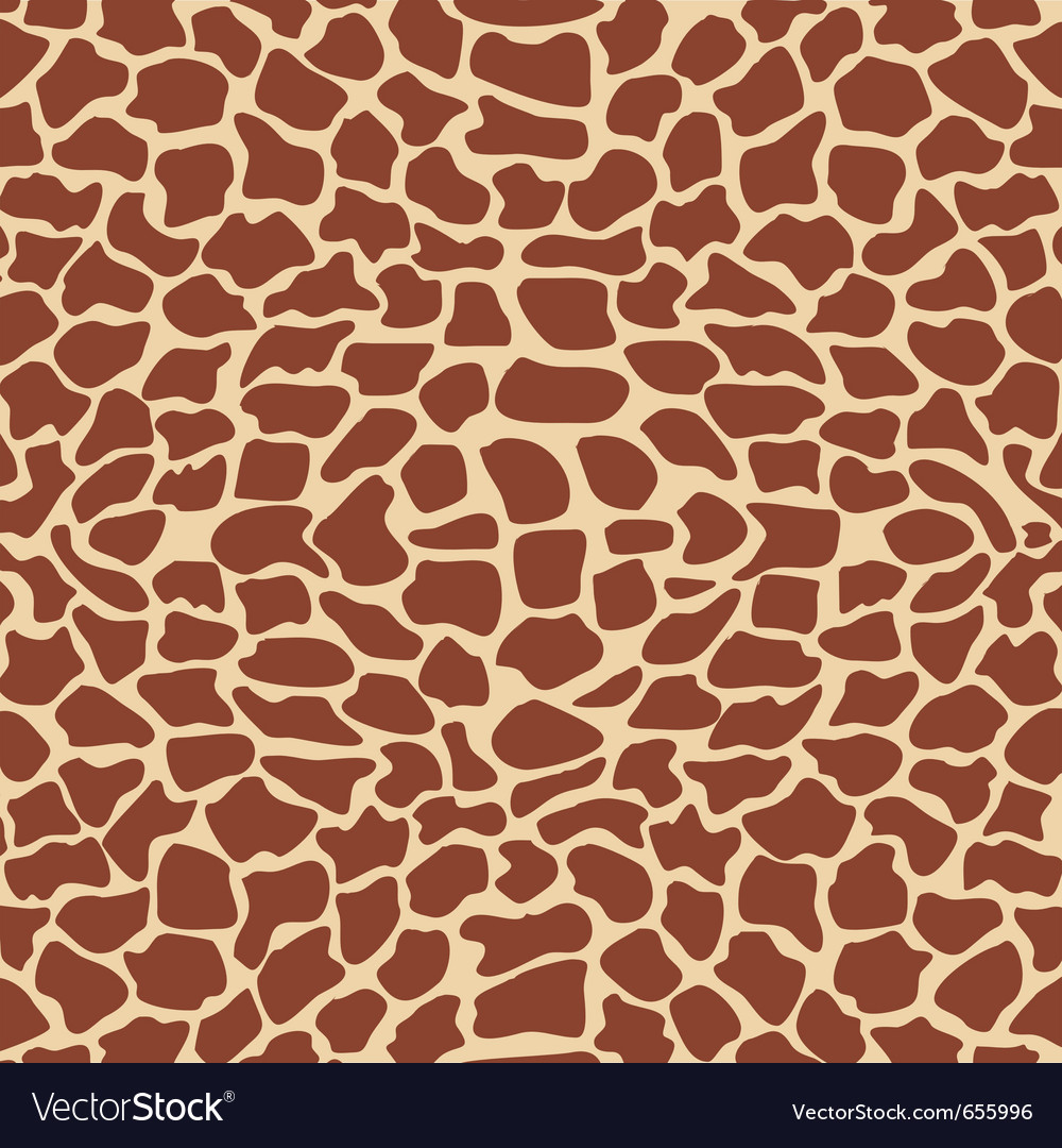 Giraffe textures vector | Price: 1 Credit (USD $1)