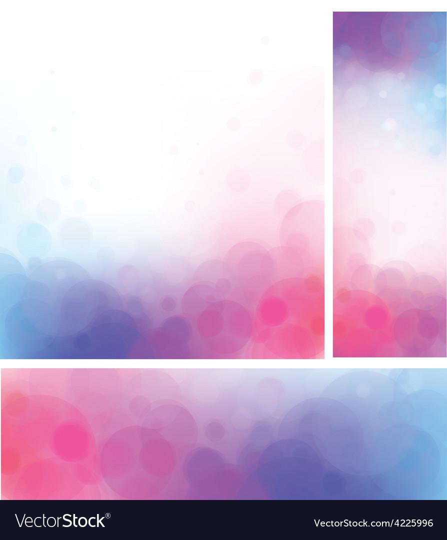 Pink blue background vector