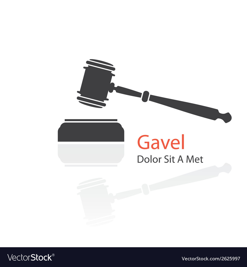 Gavel icon vector | Price: 1 Credit (USD $1)