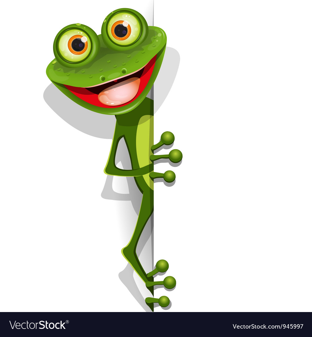 Jolly green frog vector | Price: 3 Credit (USD $3)