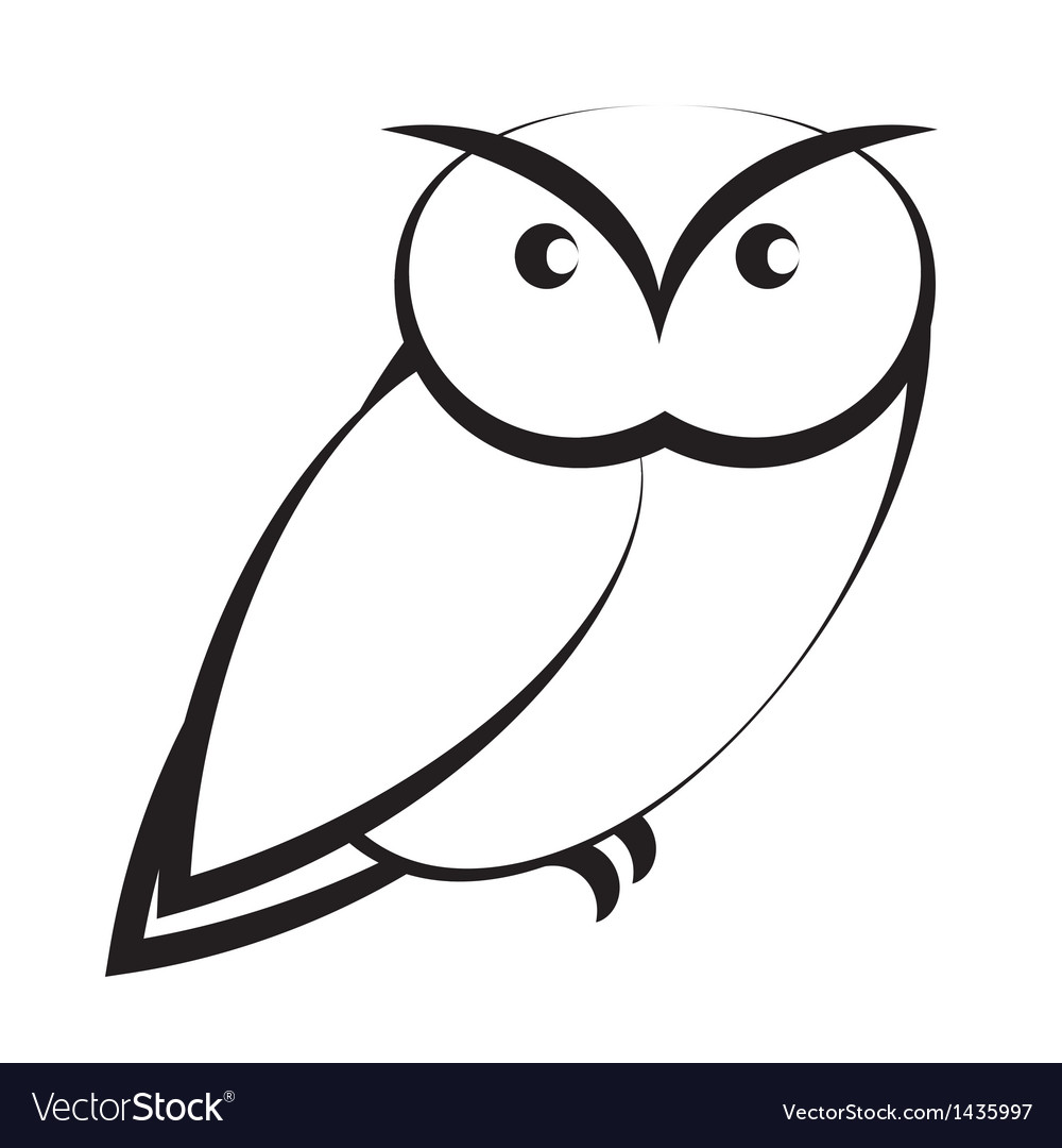 Owl vector | Price: 1 Credit (USD $1)