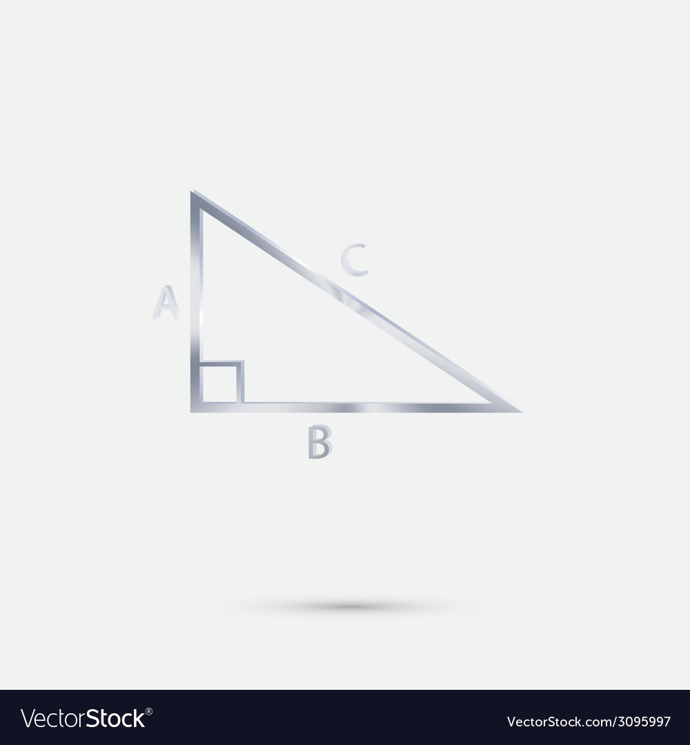 Triangle math vector | Price: 1 Credit (USD $1)