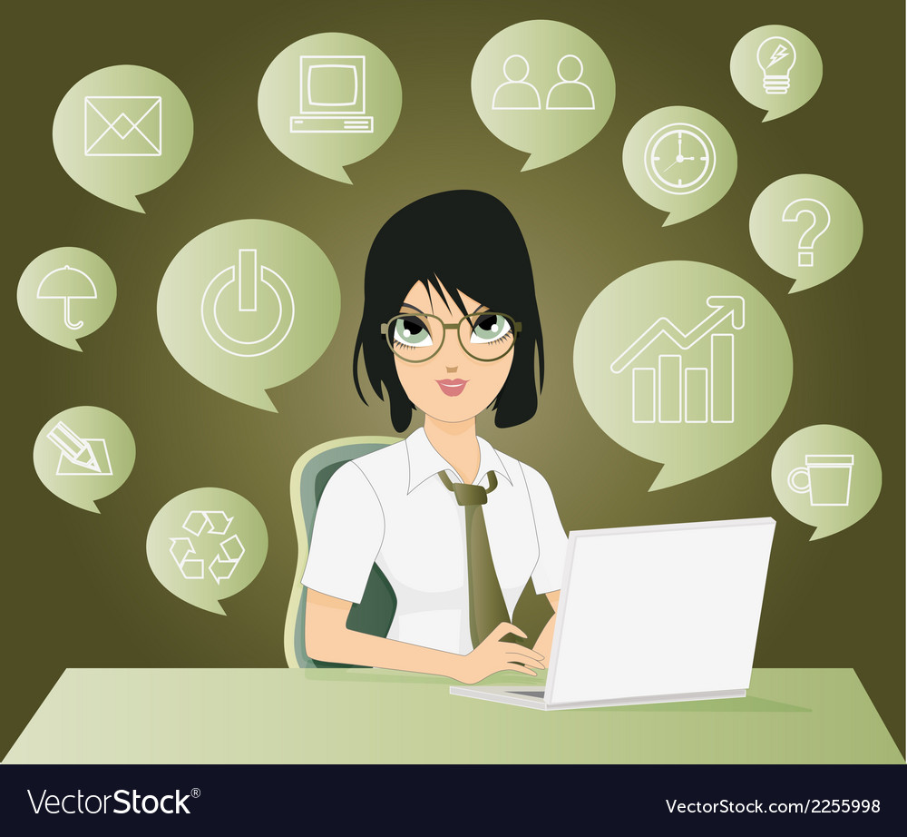 Employees vector   Price: 1 Credit (USD $1)