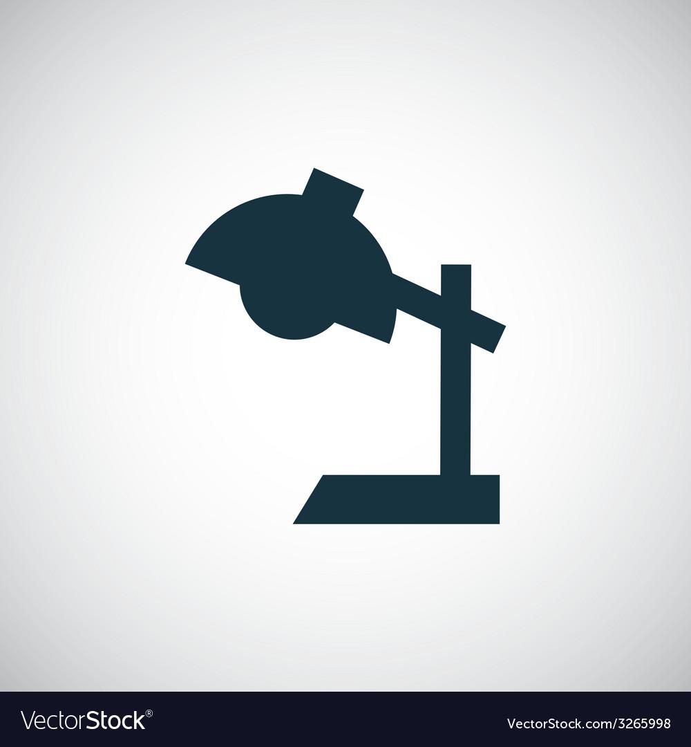 Reading-lamp icon vector | Price: 1 Credit (USD $1)