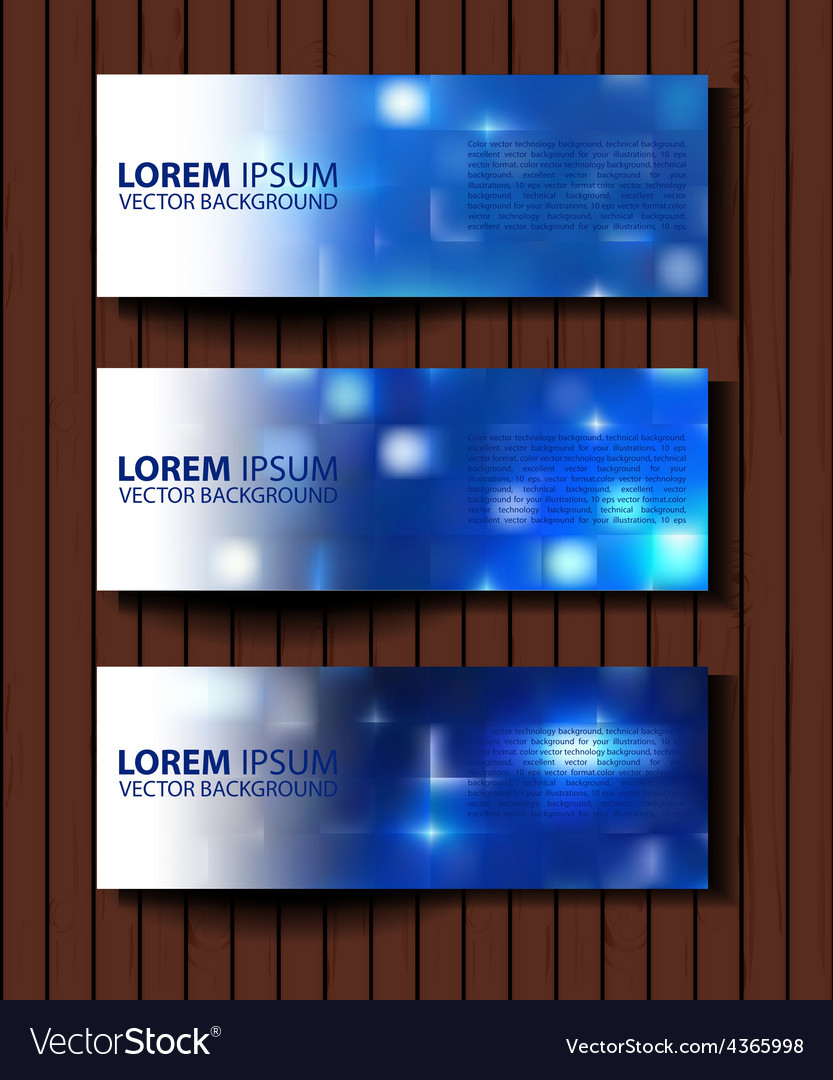 Textural banners in grunge style eps 10 vector | Price: 1 Credit (USD $1)