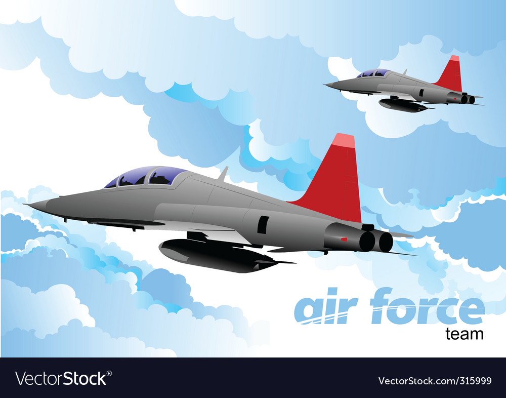 Air force vector | Price: 1 Credit (USD $1)