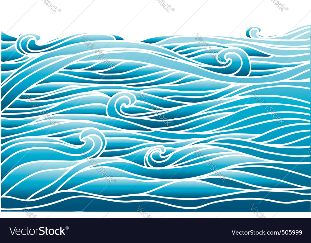 Avesvector image of sea background for desig vector | Price: 1 Credit (USD $1)