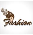 Stylish fashion text vector