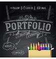 Web design template eps10 vector