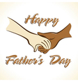 Father s day greeting vector