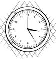 Wall clock sketch vector