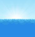 Sea simple background copy vector