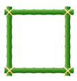 Bamboo frame vector