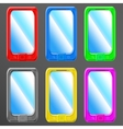 Smartphone set vector
