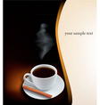 Desing with coffee vector
