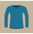 Long sleeves shirt vector