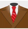 Smart suit vector