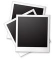 Blank photo frames vector