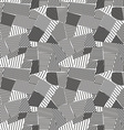 Abstract lines seamless pattern vector