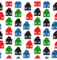 Home icon seamless pattern vector