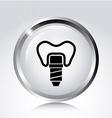 Dental design vector