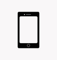 Flat icon of smartphone vector