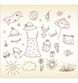Accessories  cute vector set vector