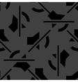 Mute sound web icon flat design seamless pattern vector
