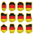 Germany signs set vector