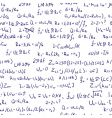 Maths formulas vector