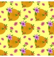 Flower background seamless vector