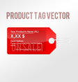 Product tag vector