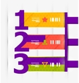 Numbered banners  infographics vector