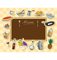 Board food vector