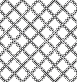 Chrome metal grid diagonal seamless background vector