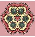 Seamless round pattern vector