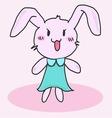 Cute little bunny vector