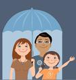 Family insurance vector