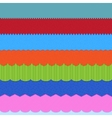 Set of 7 header backgrounds vector