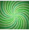 Abstract geometric vintage green and white vector