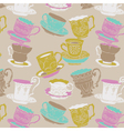 Coffee cup seamless vector