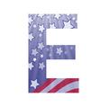 American letter e vector